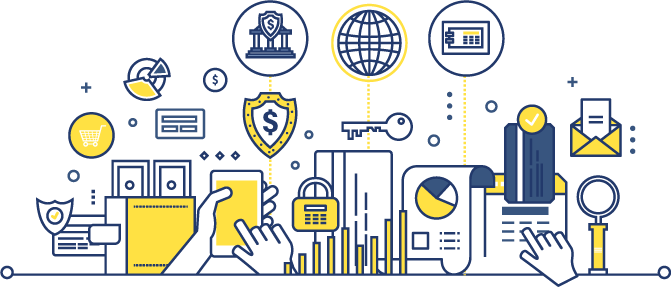 vector image of Secure