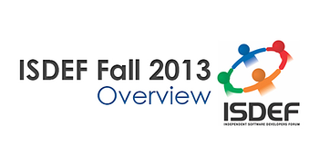 ISDEF Fall 2013 overview