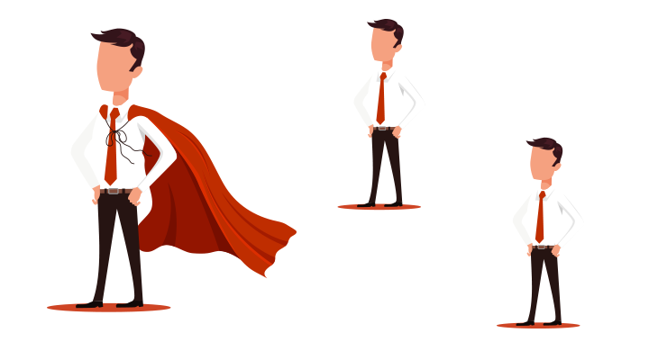red cape among white ones: B2B with a twist