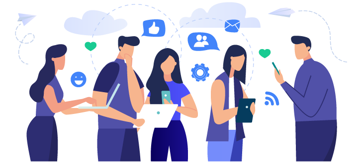 Creating and engaging the community to your SaaS business using social media