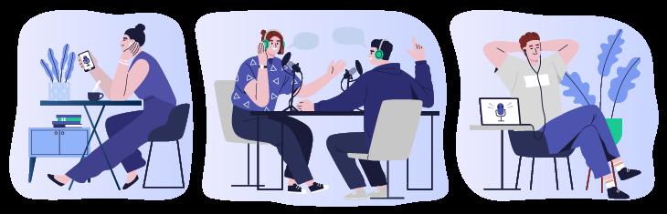 Benefits of popular SaaS podcasts