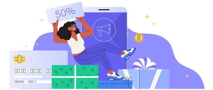 SaaS marketing strategy on social media: Incentivize audience with referral programs and discounts
